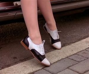 Audrey Horne, oxford shoes, and Twin Peaks image