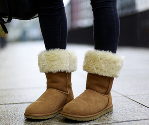 boots, ugg, and winter image