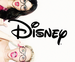 disney, selena gomez, and miley cyrus image