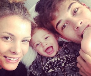 family, baby, and Francisco Lachowski image