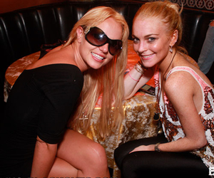 lindsay lohan and britney spears image