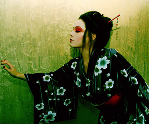 girl, geisha, and japan image