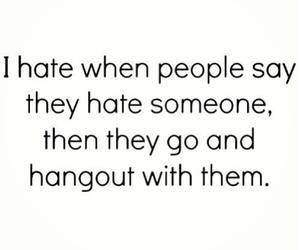 hate, quote, and people image