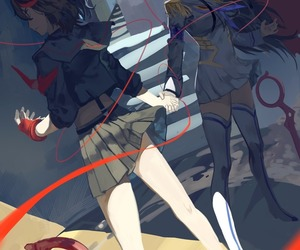 kill la kill and anime image