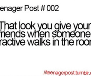 teenager post, friends, and funny image