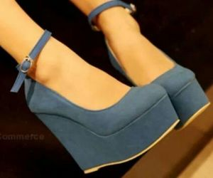 blue and cute image