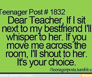 teacher, best friends, and funny image