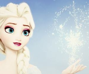 snowflakes and elsa image