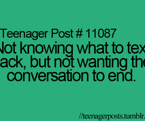 conversation, end, and quotes image