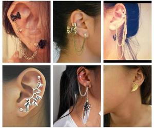 fashion, girl, and piercing image