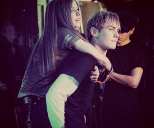 Avril Lavigne and evan taubenfeld image