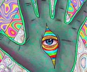 drugs, trippy, and lsd image