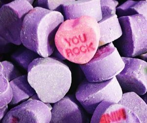 candy, hearts, and pink image