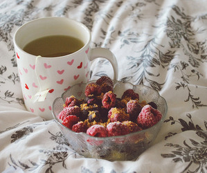 tea, coffee, and food image