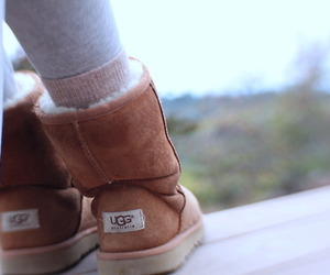 fall, uggs, and pretty image