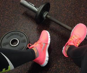 nike, fitness, and gym image