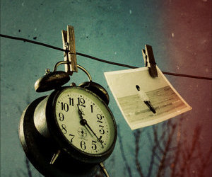 clock, photo, and time image