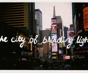 city, lights, and u2 image