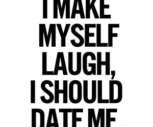 date, funny, and laugh image