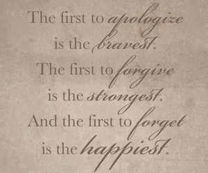 apologize, forget, and forgive image