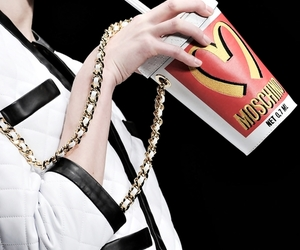 Moschino, fashion, and model image