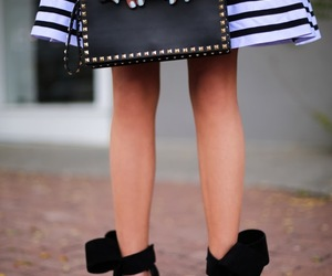 shoes, bag, and blogger image