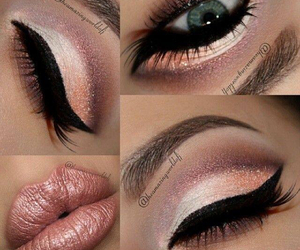 look, makeup, and love image