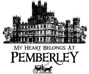 jane austen, pride and prejudice, and pemberley image