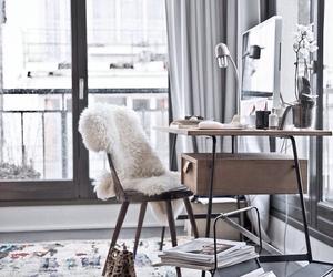 desk, room, and fashion image