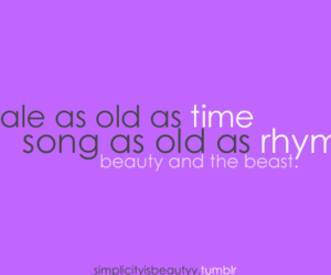 beauty and the beast, disney, and songs image