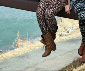 bridge, cool, and leggings image