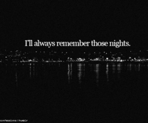 always, night, and i'll image