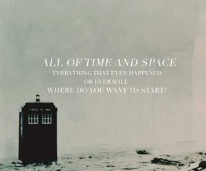 doctor, space, and tardis image