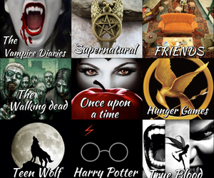 harry potter, once upon a time, and supernatural image