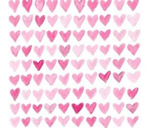 hearts, pink, and cute image