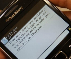 love, blackberry, and text image