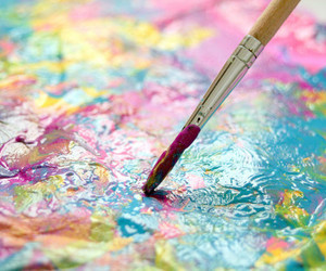 paint, art, and colorful image
