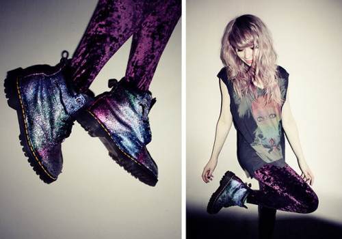 dr martens, style, and shoes image