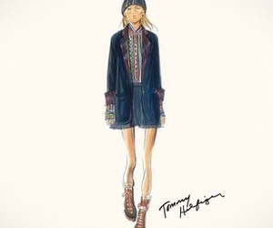 fashion, mode, and tommy hilfiger image