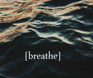 breathe, sea, and water image