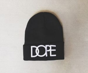 beanie, dope, and fashion image