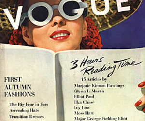 editorial, vogue, and 1940's image