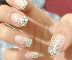 nails, polish, and sparkly image