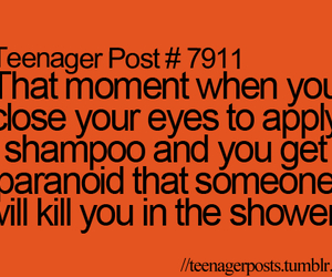 teenager post, shower, and true image