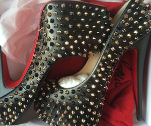 high heels, shoes, and fashion image