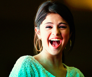 selena gomez, smile, and happy image