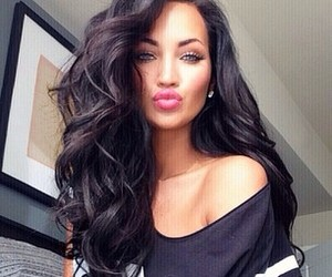 brunette, curly, and natalie halcro image