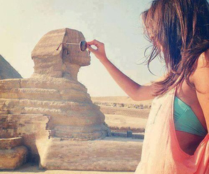 egypt, girl, and summer image