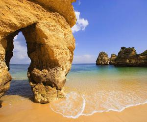 beach, portugal, and summer image