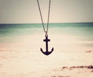 anchor, beach, and summer image